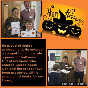 Halloween poetry competition winner!